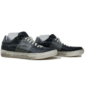 Cobbler By Bed Stu Disstressed Leather Sneaker